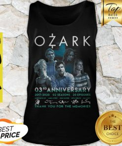 Ozark 03rd Anniversary 2017 2020 02 Seasons 20 ep Signatures Tank Top