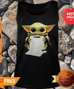 Official Baby Yoda Hug Toilet Paper Tank Top