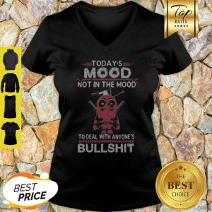Today's Mood Not In The Mood To Deal WIth Anyone's Bullshirt V-neck