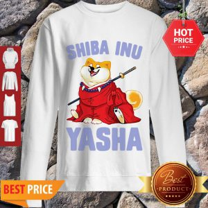 Official Shiba Inu Yasha Dog Lovers Sweatshirt