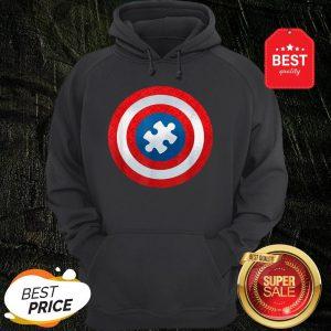 Autism Awareness Superhero Puzzle Shield Gift Hoodie