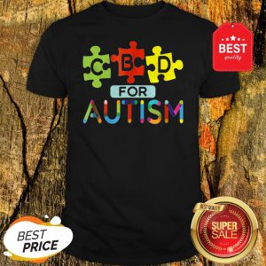 CBD For Autism Awareness Shirt Hemp Oil Puzzle Gift Shirt
