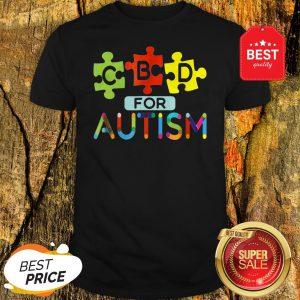 CBD For Autism Awareness Shirt Hemp Oil Puzzle Gift Shirt