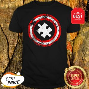 Nice Captain Autism Superhero Autism Awareness Shirt