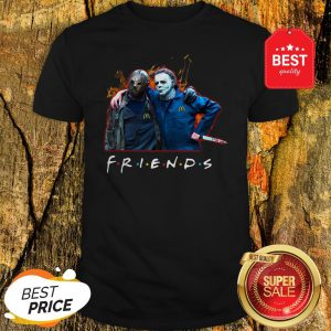 Nice Friends Jason Voorhees Michael Myers Shirt