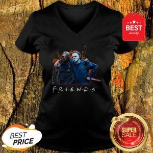 Nice Friends Jason Voorhees Michael Myers V-neck