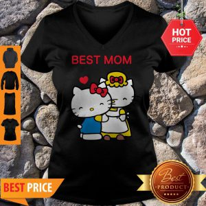 Official Hello Kitty Mother's Day Best Mom V-neck