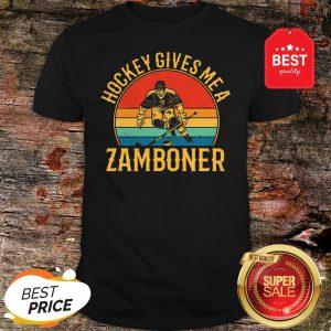 Official Hockey Gives Me A Zamboner Vintage Shirt