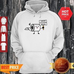 Official I Survived Toiletpaper Panic 2020 Hoodie