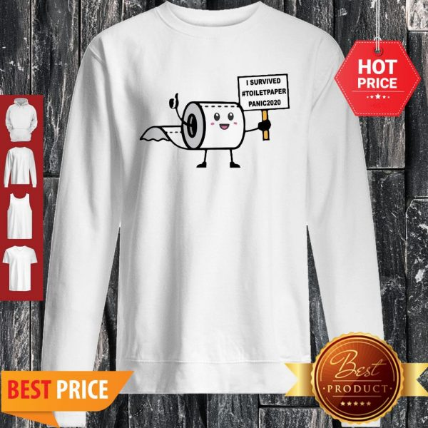 Official I Survived Toiletpaper Panic 2020 Sweatshirt