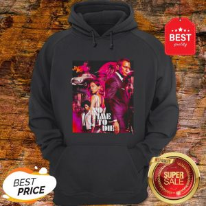 Official James Bond 007 No Time To Die Hoodie