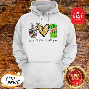 Official Peace Love Mtn Dew Hoodie
