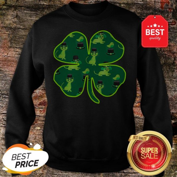 Official St Patricks Day Animals By Scarebaby Sweatshirt