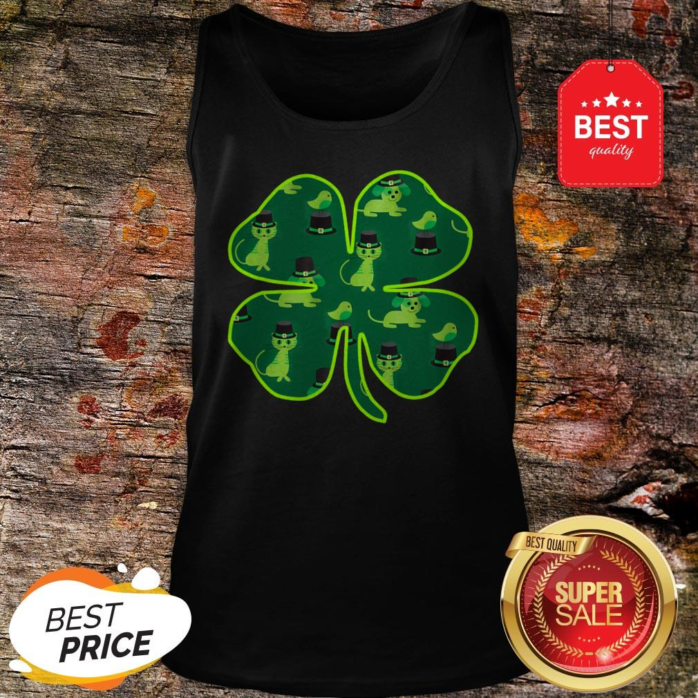 Official St Patricks Day Animals By Scarebaby Tank Top