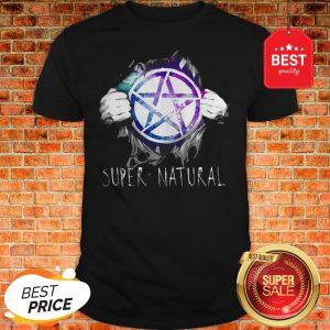 Official Tearing Supernatural Shirt
