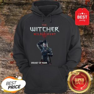 Official The Witcher Wild Hunt Geralt of Rivia Hoodie