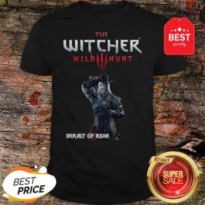 Official The Witcher Wild Hunt Geralt of Rivia Shirt