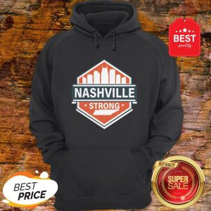 Official Tornado Nashville Strong I Believe In Tennessee Hoodie