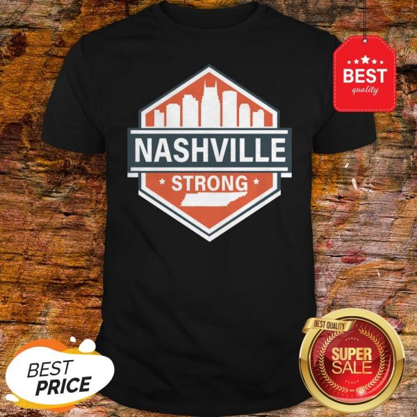 Official Tornado Nashville Strong I Believe In Tennessee Shirt