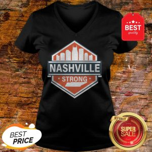 Official Tornado Nashville Strong I Believe In Tennessee V-neck