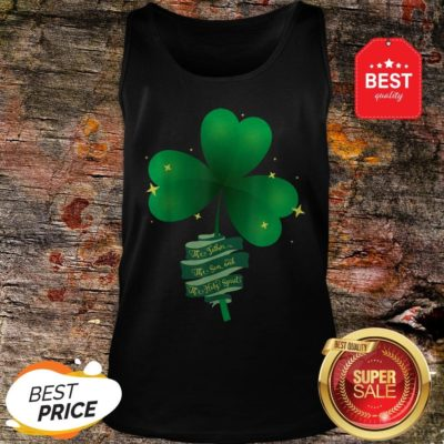 St Patricks Day Catholic Holy Trinity Father Son Holy Spirit Tank Top - Design By Rulestee.com