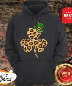 St Patricks Day Costume Leopard Shamrock Lover Gifts Hoodie - Design By Rulestee.com