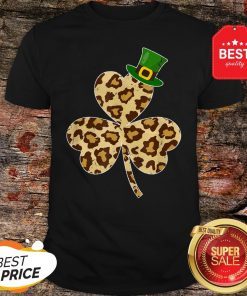 St Patricks Day Costume Leopard Shamrock Lover Gifts T-Shirt - Design By Rulestee.com