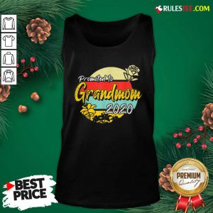 Top Promoted To Grandmom Est 2020 Mothers Day Gifts New Grandma Tank Top - Design By Rulestee