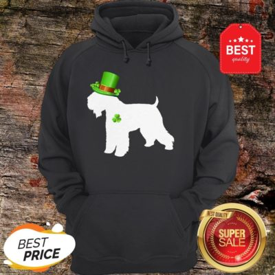 Wheaten Terriers Lucky Clover Shamrock St Patrick's Day Gift Hoodie - Design By Rulestee.com