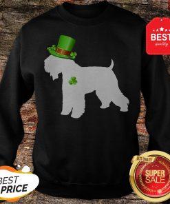Wheaten Terriers Lucky Clover Shamrock St Patrick's Day Gift Sweatshirt - Design By Rulestee.com