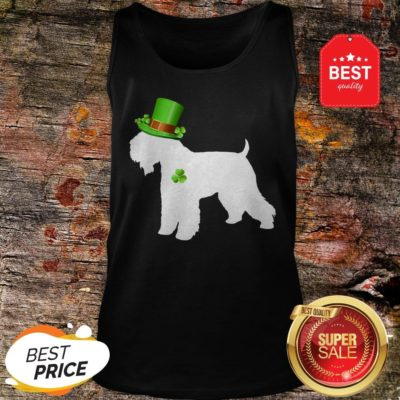 Wheaten Terriers Lucky Clover Shamrock St Patrick's Day Gift Tank Top - Design By Rulestee.com