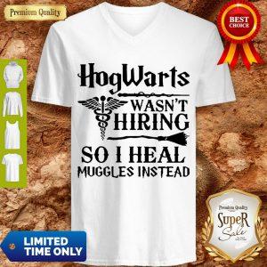 Nurse Hogwarts Wasn't Hiring So I Heal Muggles Instead V-neck
