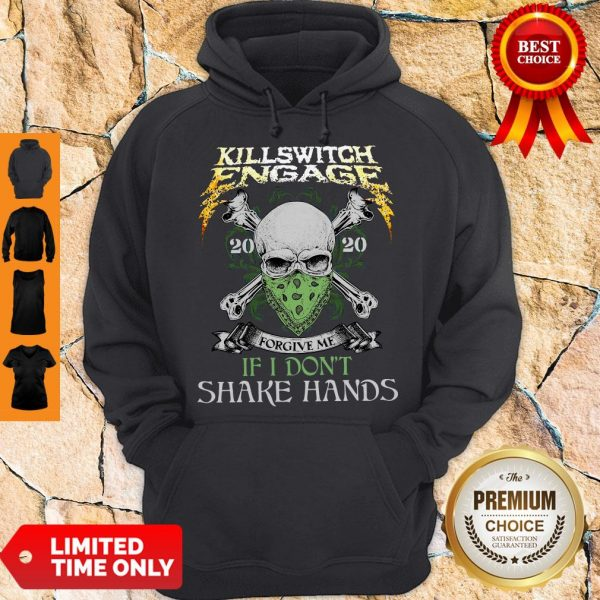 Killswitch Engage Forgive Me If I Don't Shake Hands Hoodie