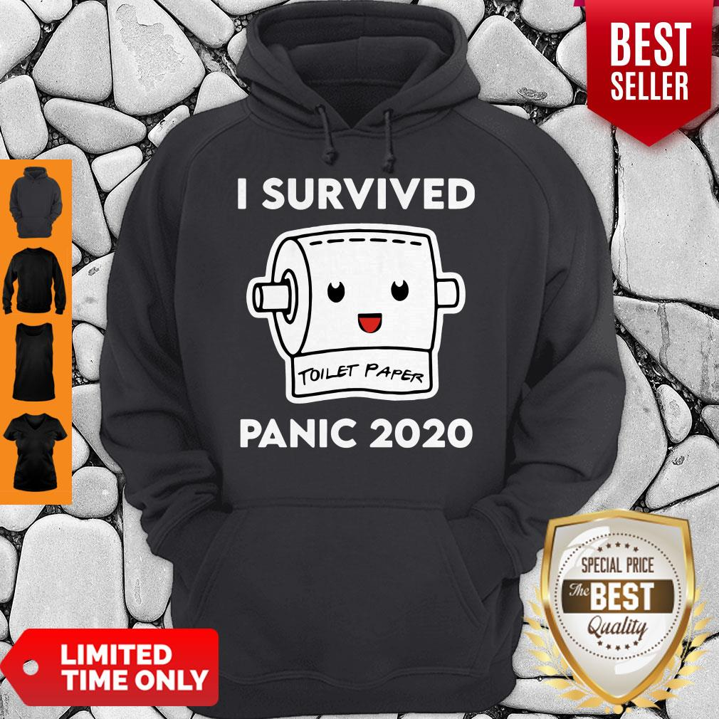 Official I Survived Panic 2020 Toilet Paper Hoodie
