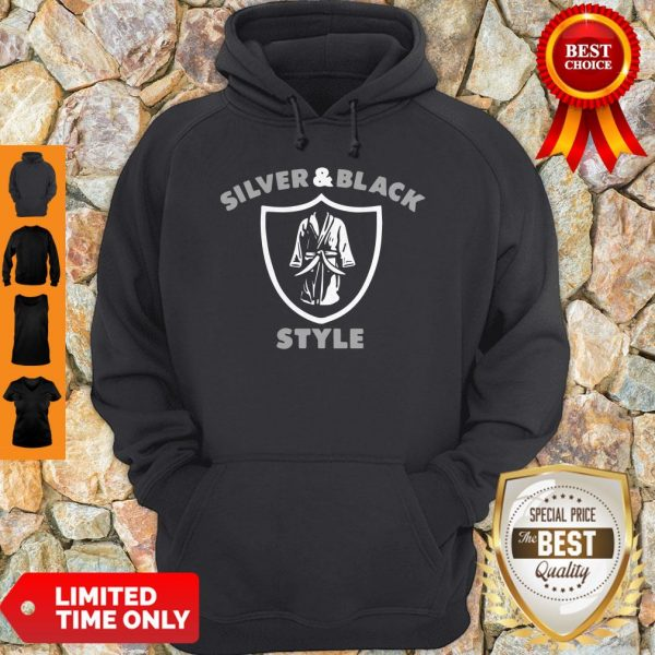 Official Henry Ruggs III Raiders Silver And Black Style Hoodie