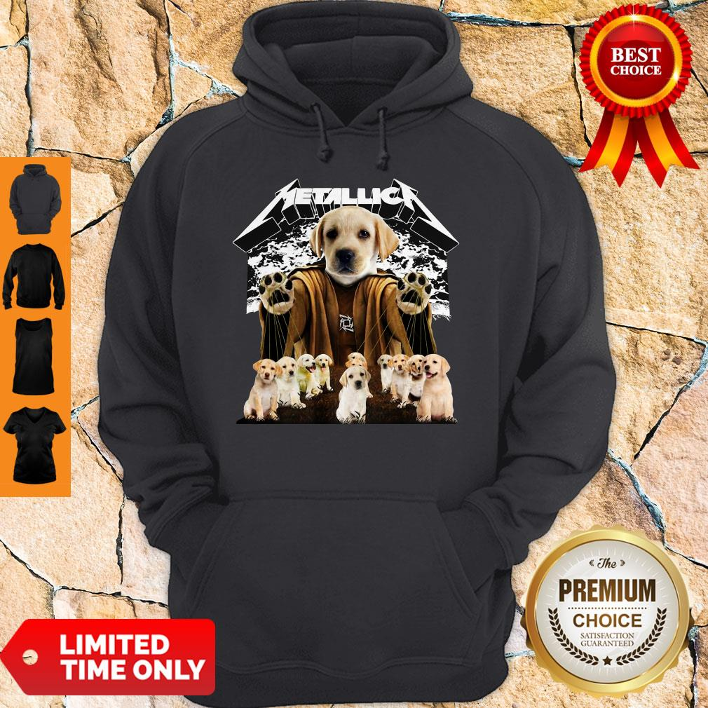 Official Metallica Labrador Retriever Master Of Puppies Hoodie