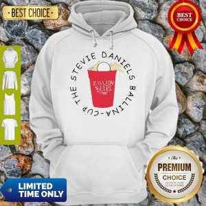 Official Zillion Beers Cup The Stevie Daniels Ballina Hoodie