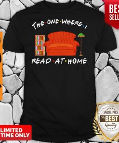 Official The One Where Read At Home Shirt