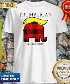 Official Trumplican Roaring Right Shirt