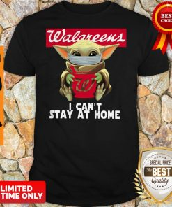 Baby Yoda Face Mask Walgreens Can't Stay At Home Shirt