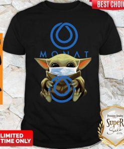 Official Baby Yoda Hug Monat Global Covid 19 Shirt