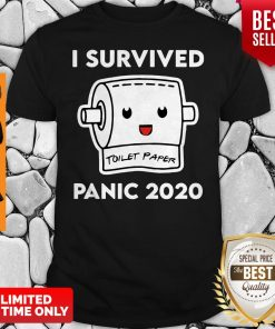 Official I Survived Panic 2020 Toilet Paper Shirt