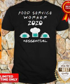 Official Food Service Worker 2020 Essential Shirt