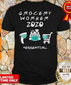 Official Grocery Worker 2020 Essential Shirt