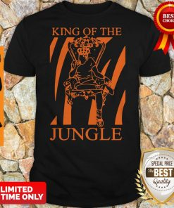 Official Joe Burrow King Of The Jungle Shirt