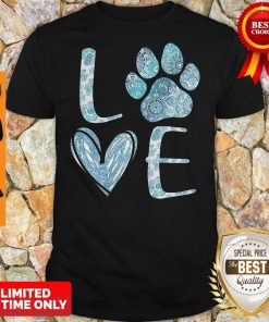 Official Lovw Paw Dog Shirt