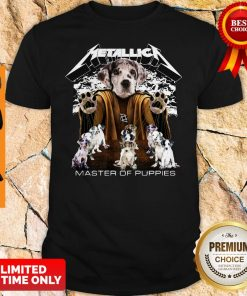 Official Metallica Dalmatian Master Of Puppies Shirt