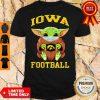 Official Baby Yoda Face Mask Hug Lowa Football Shirt