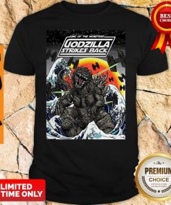 Official King Of The Monsters Godzilla Strikes Back Shirt