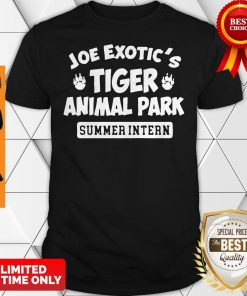 Official Joe Exotics Tiger Animal Park Shirt